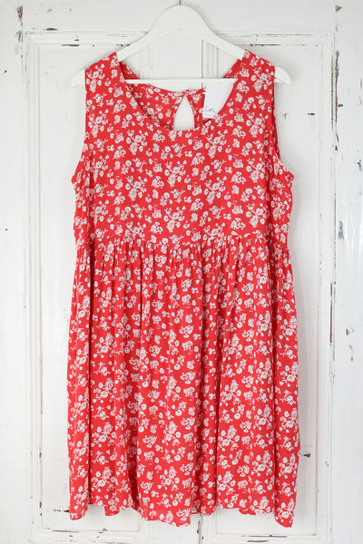 Everlong Red Smock Dress | Plus
