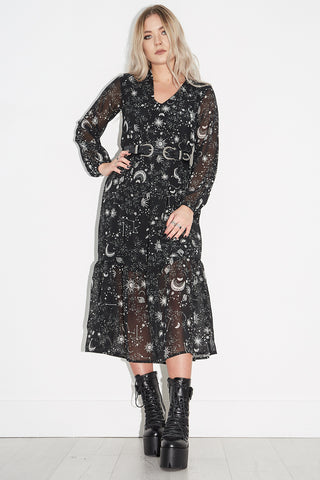 Lady Stardust Midi Dress