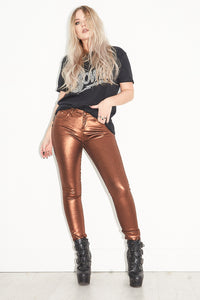 Tainted Love Bronze Skinnies