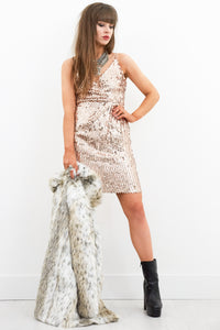 Bad Attitude Sequin Dress