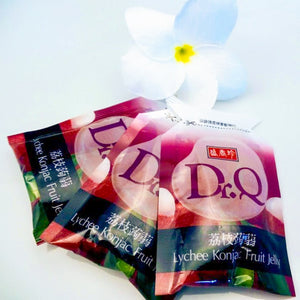 Dr. Q Lychee Fruit Jelly - Jade Food