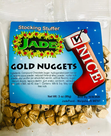 Naughty n Nice Stocking Stuffer - Gold Nuggets