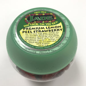 Premium Lemon Peel Strawberry Jar