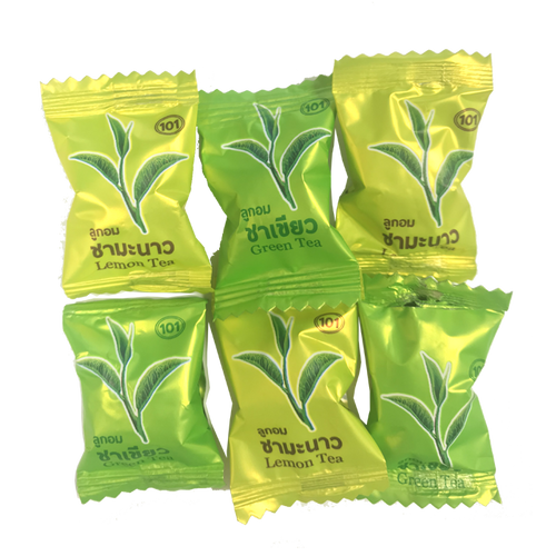 Green and Lemon Tea Candy - Jade Food Products Inc