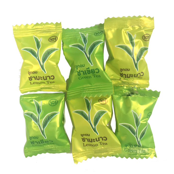 Green and Lemon Tea Candy