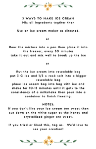 Crystallized Ginger (see DIY recipe for Ginger Ice Cream) - Jade Food Products Inc