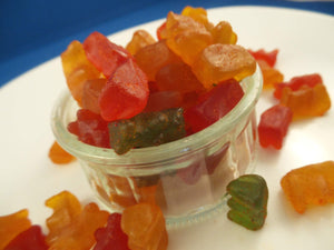 JADE Li Hing Gummy Bears (M) - Jade Food Products Inc