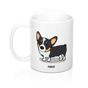 Open image in slideshow, Forest the Corgia Mug 11oz