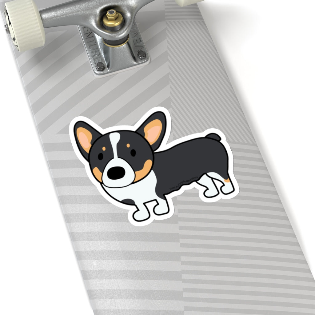 Forest the Corgi Kiss-Cut Stickers