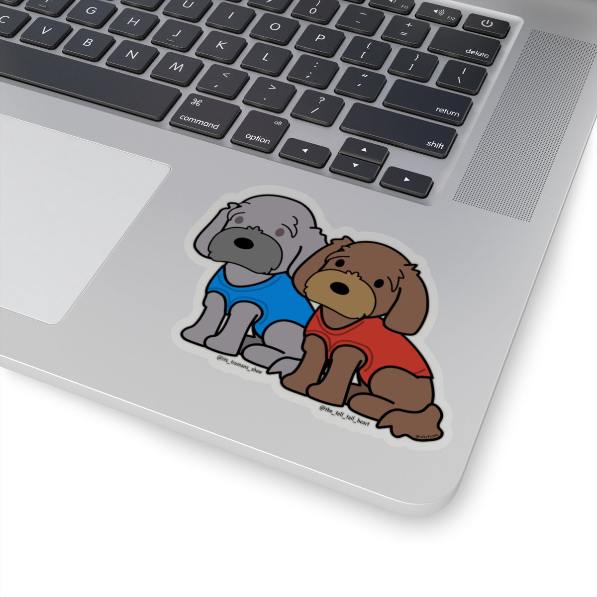 Truman and Poe Stickers