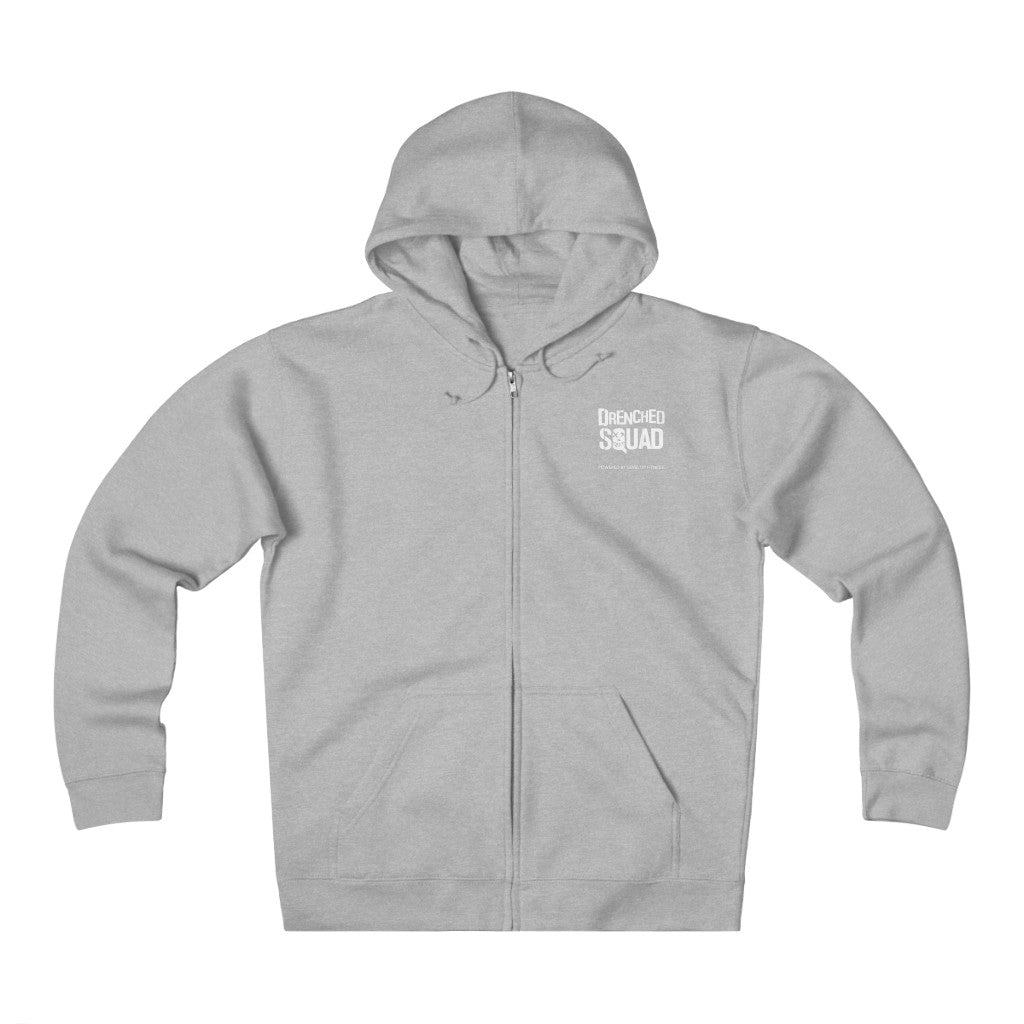 Drenched Squad Level Up Heavyweight Fleece Zip Hoodie