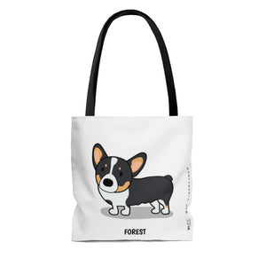 Forest the Corgi Tote Bag