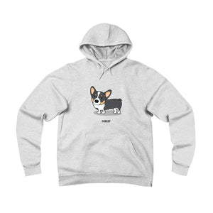 Open image in slideshow, Forest the Corgi Sponge Fleece Pullover Hoodie