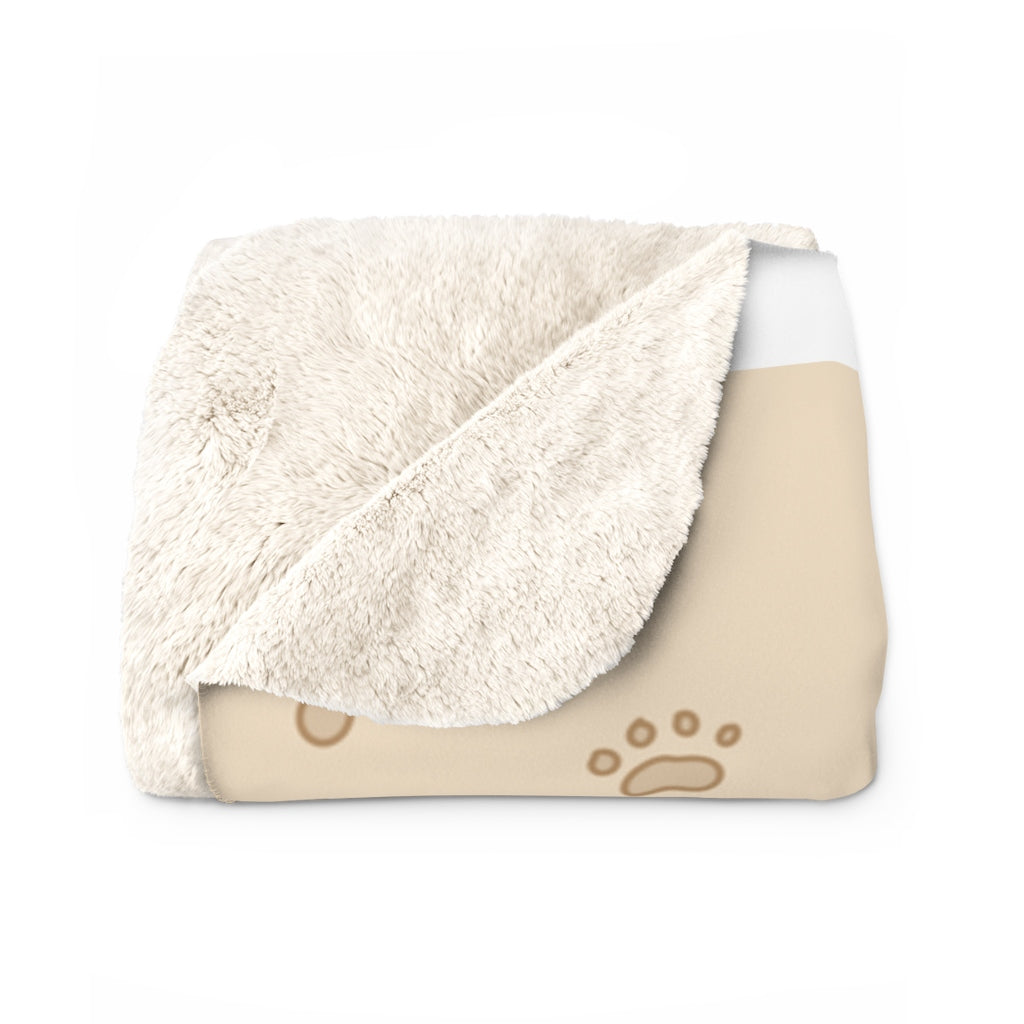 Forest the Corgi Sherpa Fleece Blanket