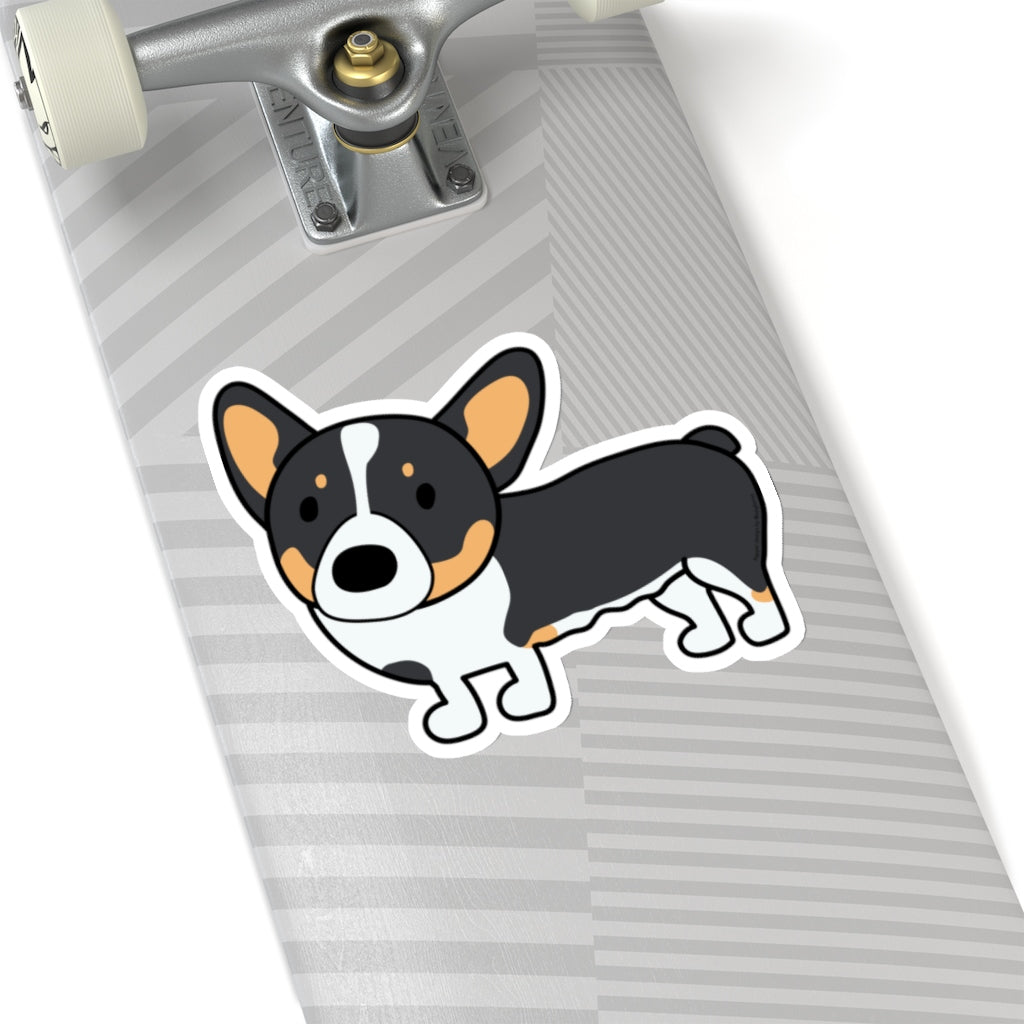 Pepper the Corgi Kiss-Cut Stickers