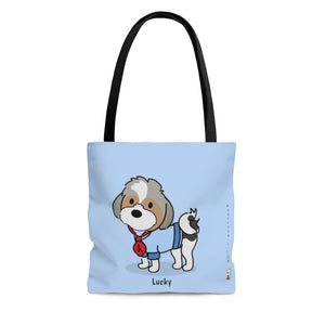 Open image in slideshow, Lucky Tote (Blue)