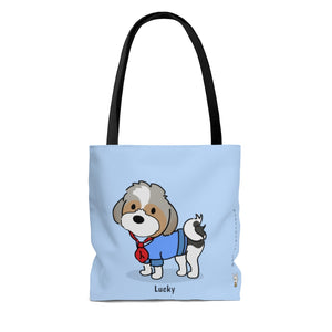 Lucky Tote (Blue)
