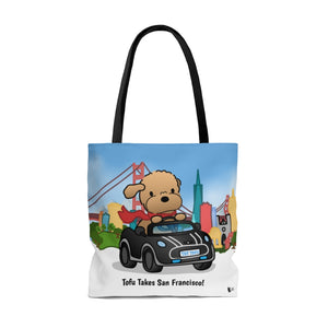 Tofu Takes San Francisco! Tote Bag