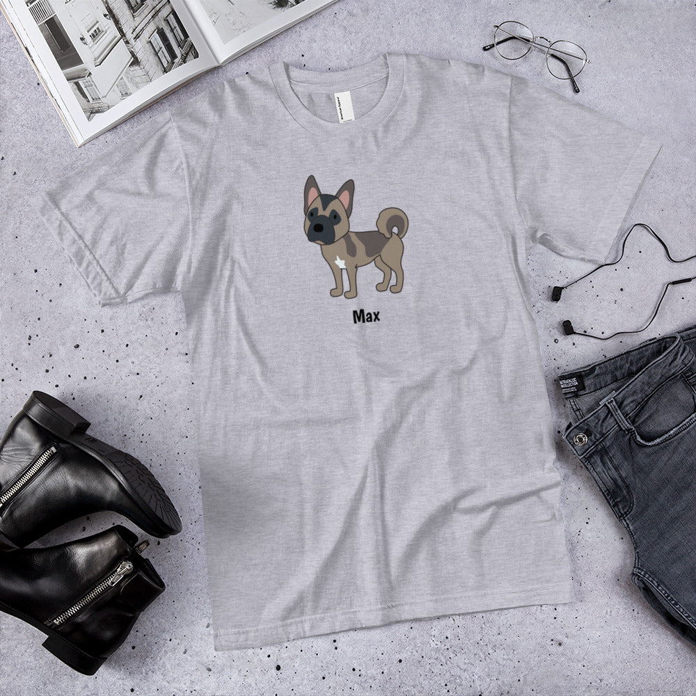 Personalized Akita Short-Sleeve T-Shirt