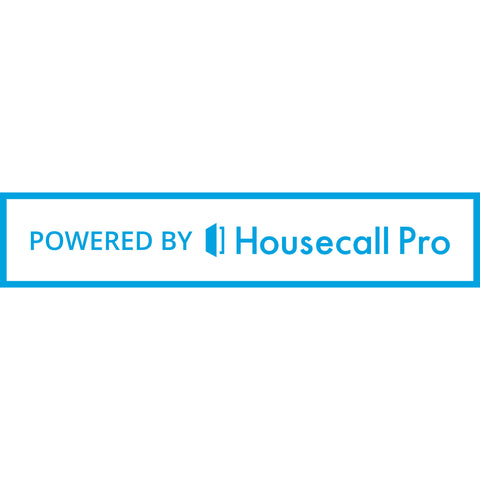 Powered By Housecall Pro Inline Bumper Sticker