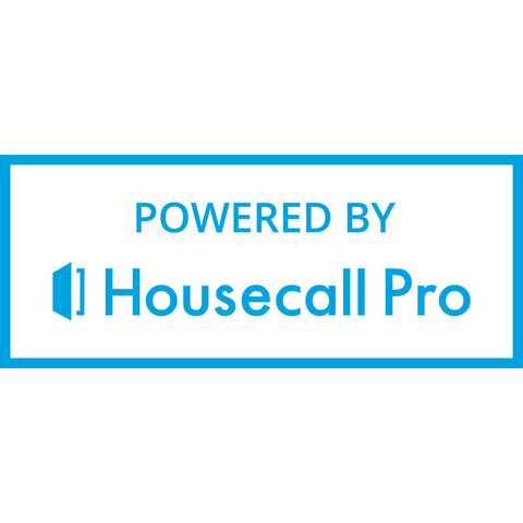 Powered By Housecall Pro Stacked Bumper Sticker