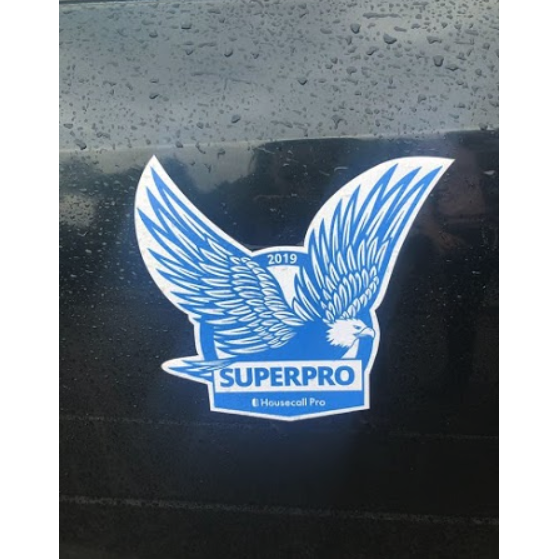 Superpro car magnet