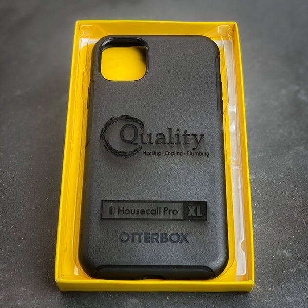 Your logo on a phone case