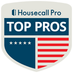 Top Pros logo (embeddable website link)