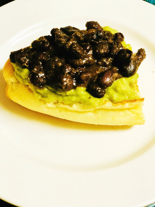 Avocado and Bean Toast