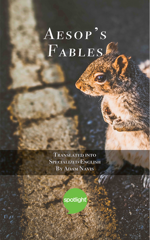 Aesop's Fables (In Specialized English) + FREE Audiobook version