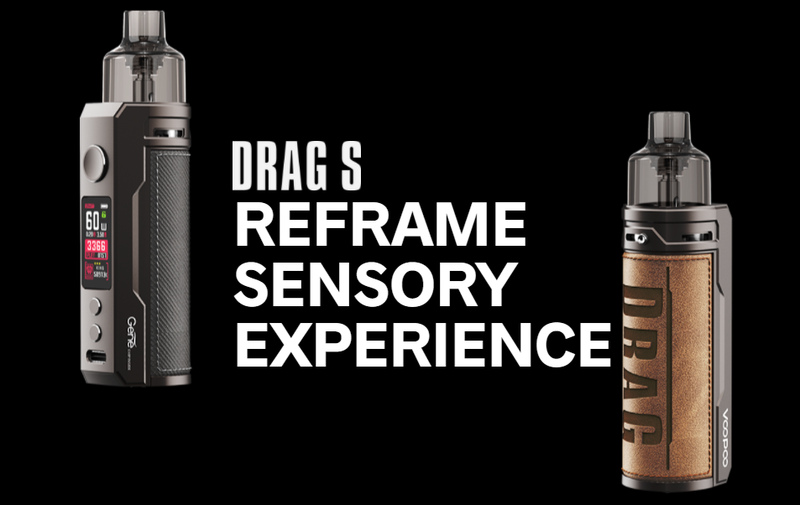 VOOPOO Drag S 60W Mod Pod Kit Review