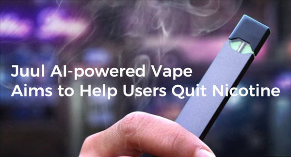 Juul AI-powered Vape Aims to Help Users Quit Nicotine
