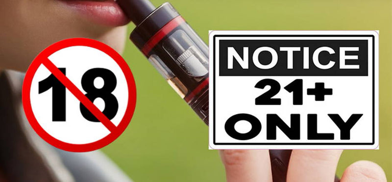 The US Increases the Legal Age to Smoke and Vape from 18 to 21