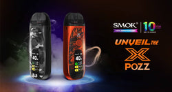 SMOK Pozz X Pod Kit Review: for 10-Year Anniversary [2020]