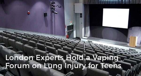 London Experts Hold a Vaping Forum on Lung Injury for Teens