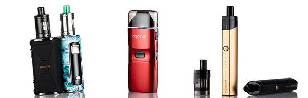 Why These 3 E-Cigarette Products are So Popular?