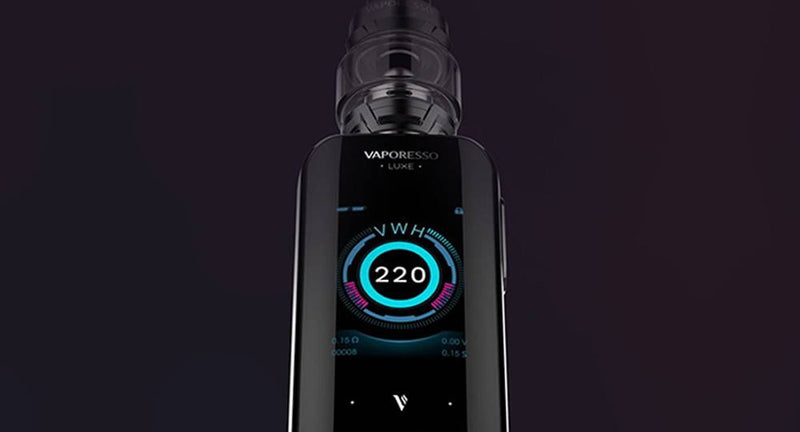 [2020 Updated] Vaporesso Luxe & SKRR Kit Review for UK: Sleek and Touchable