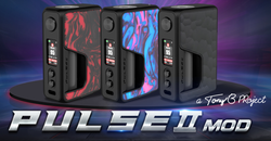 [2020 Newest] Vandy Vape PULSE V2 95W Squonk Box Mod: The Latest Addition to the Pulse Line Up