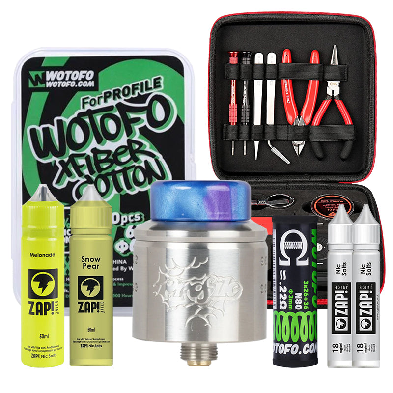 Builders Vape Kit Gift Set