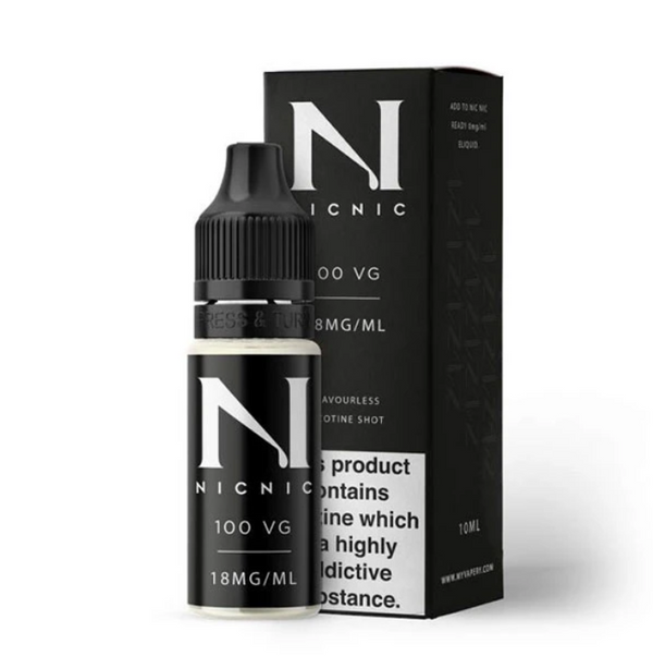 Nic Nic 100VG Max VG Nic Shot 18mg 10ml