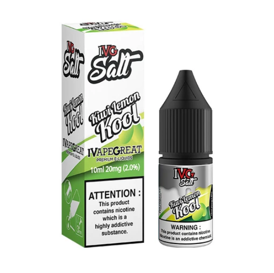 IVG Kiwi Lemon Kool Nic Salt 10ml