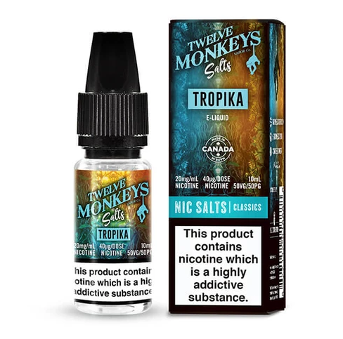 Twelve Monkeys Salts Tropika Nic Salt 10ml