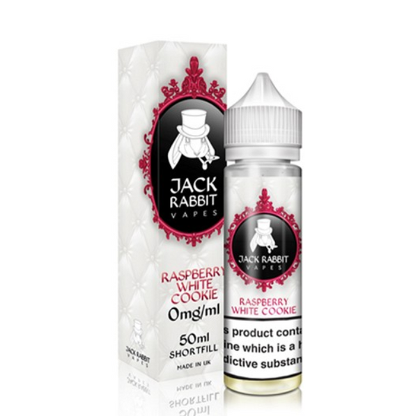 Jack Rabbit Raspberry White Cookie Shortfill 50ml
