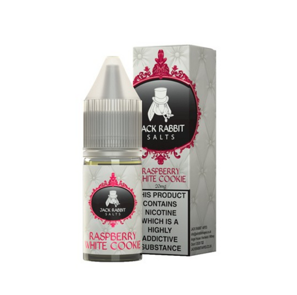 Jack Rabbit Raspberry White Cookie Nic Salt 10ml
