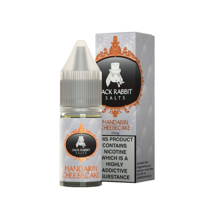 Rachel Rabbit Mandarin Cheesecake Nic Salt 10ml