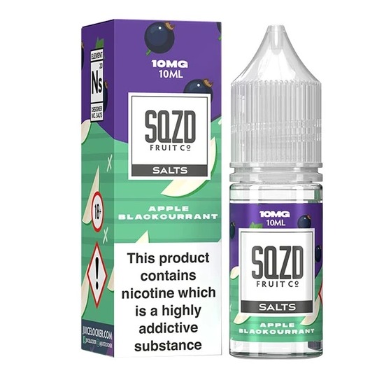 SQZD Apple Blackcurrant Nic Salt 10ml