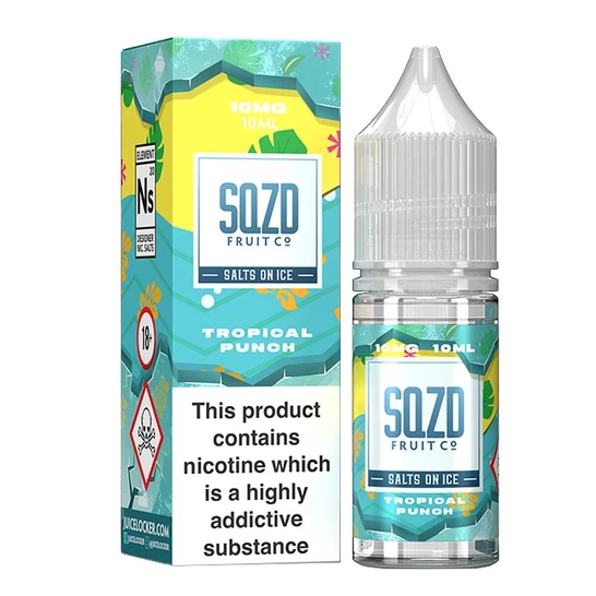 SQZD On Ice Tropical Punch Nic Salt 10ml
