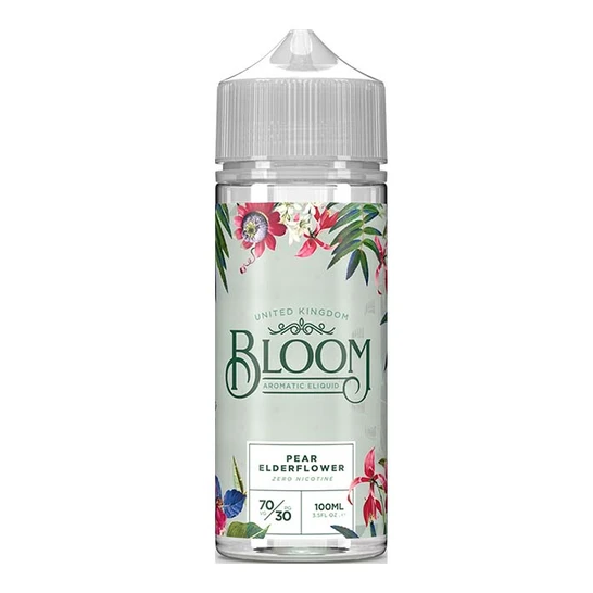 Bloom Pear Elderflower Shortfill 100ml
