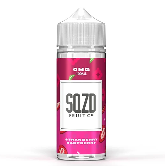SQZD Strawberry Raspberry Shortfill 100ml