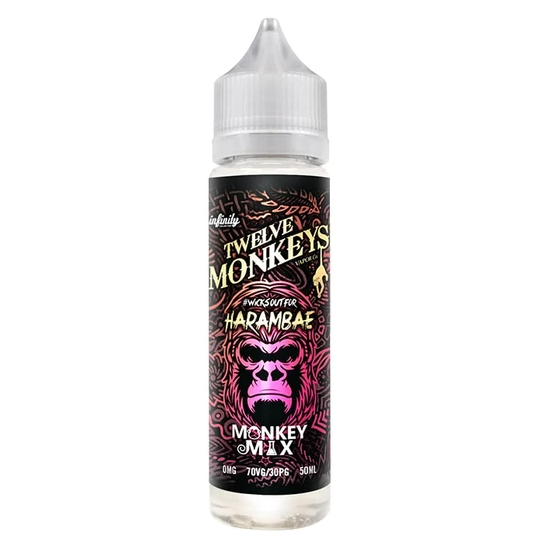 Twelve Monkeys Harambae Shortfill 50ml